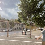 Rendering Piazza Auzzi