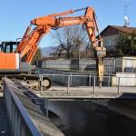 Abbattimento ponte Stecco
