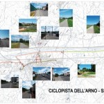 Percorso Ciclopista Arno