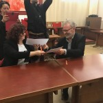 Firma Accordo ComuneFIV  e Castelfranco Piandiscò