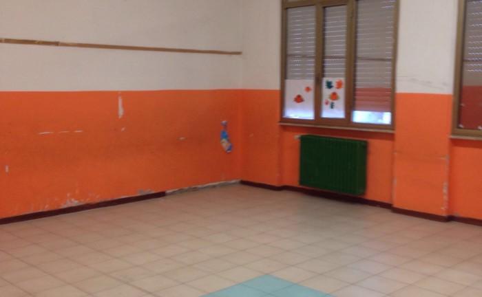 Lavori Scuola San Biagio_Aula sgomberata 1