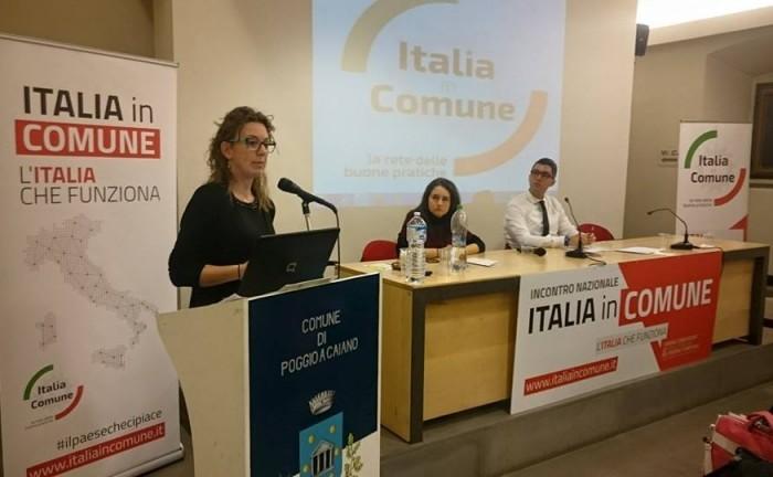 Ottavia Meazzini a L'Italia in comune