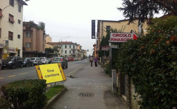 fine cantiere via Roma